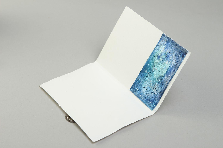 Handmade card paper card unusual card designer card greeting card gift ideas photo 3