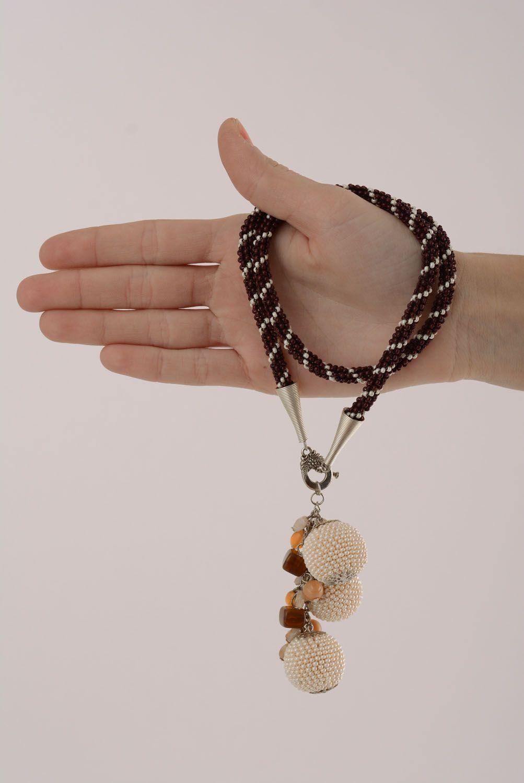 beaded necklaces Handmade necklace - MADEheart.com