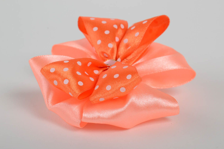 Nice handmade ribbon bow hair clip homemade barrette hair bow hair style ideas photo 4