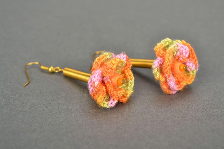 Crochet earrings Joy photo 4