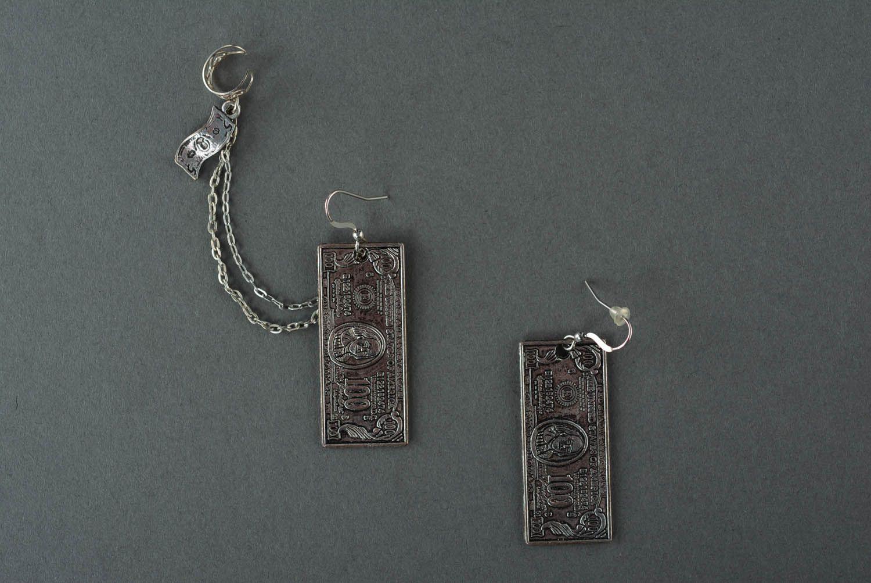 Cuff earrings Dollars photo 2