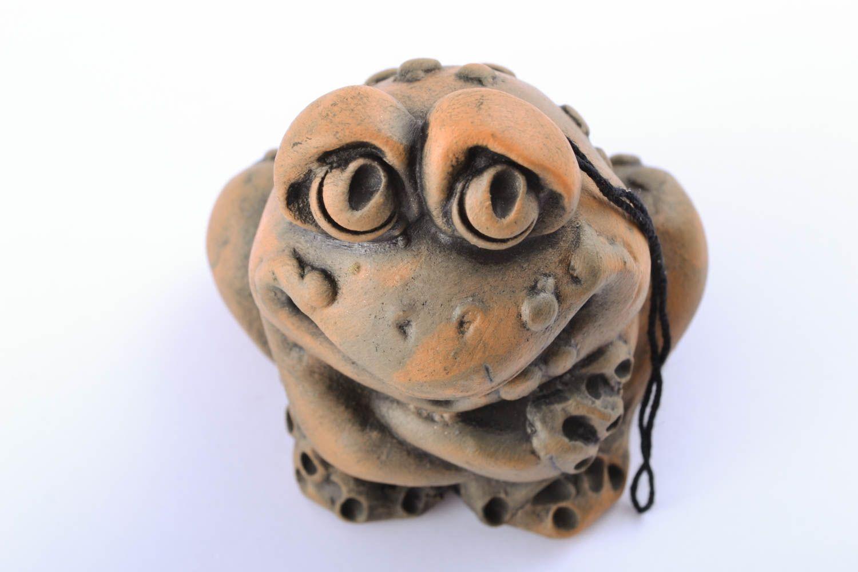 Designer ceramic bell Frog photo 1