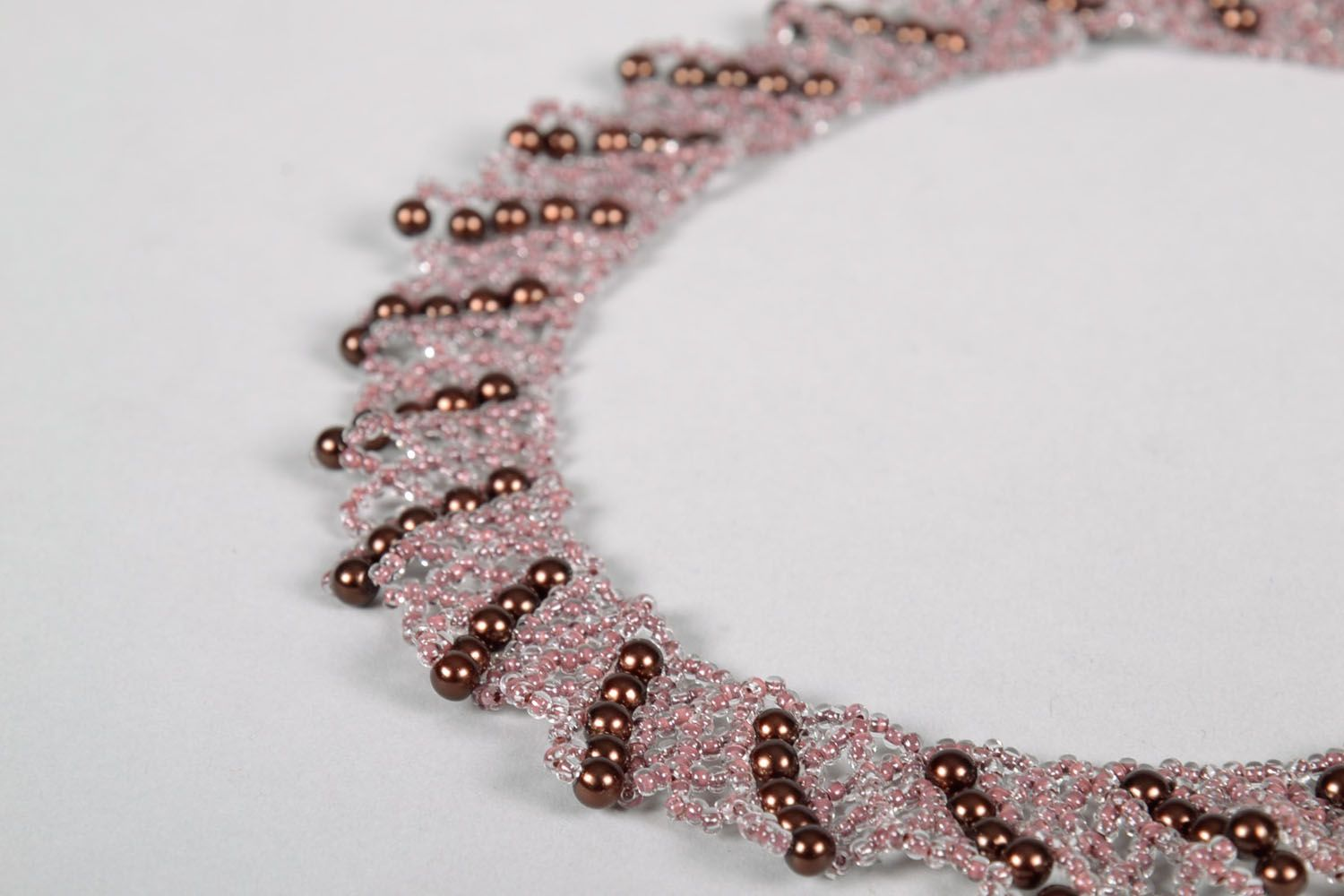 Beaded necklace photo 4