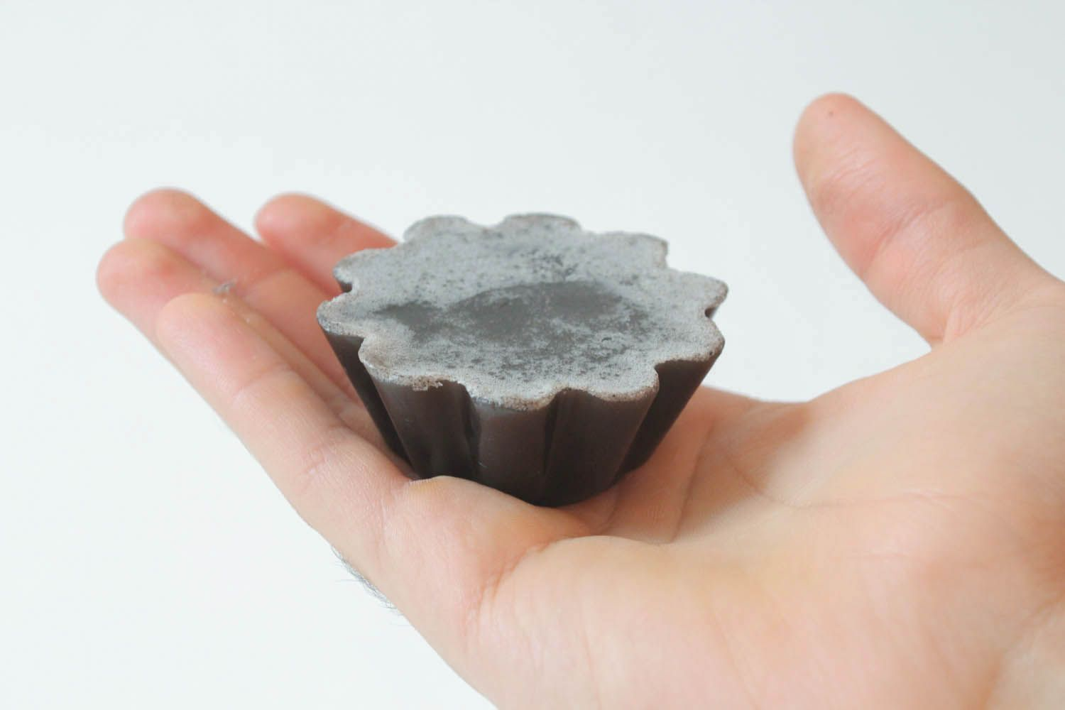 Soap with black clay photo 4