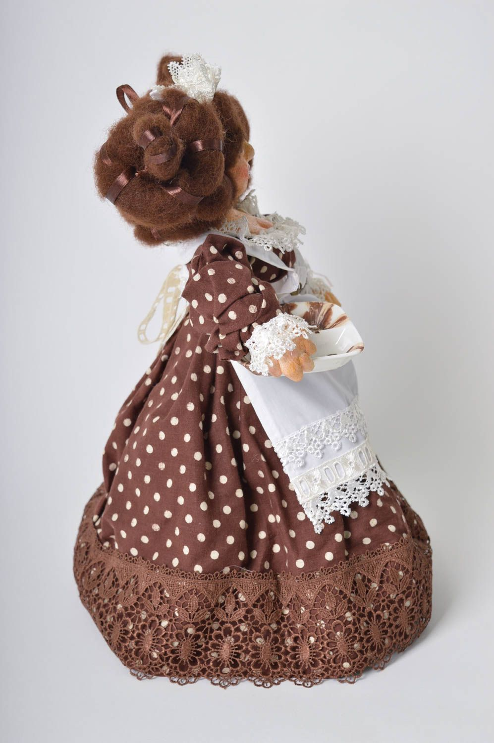 Handmade soft doll soft toy for kids nursery decor for decorative use only photo 2