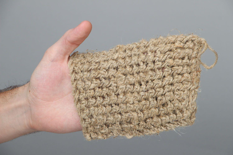 Homemade linen bast whisp photo 4