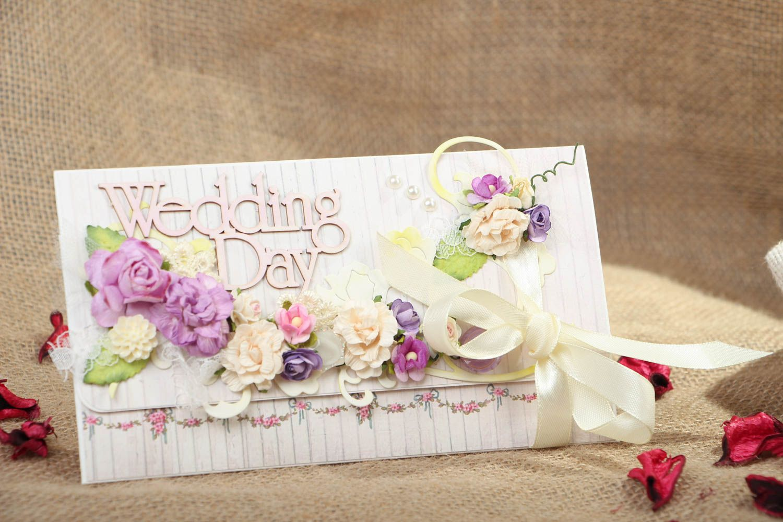 Beautiful wedding card photo 5