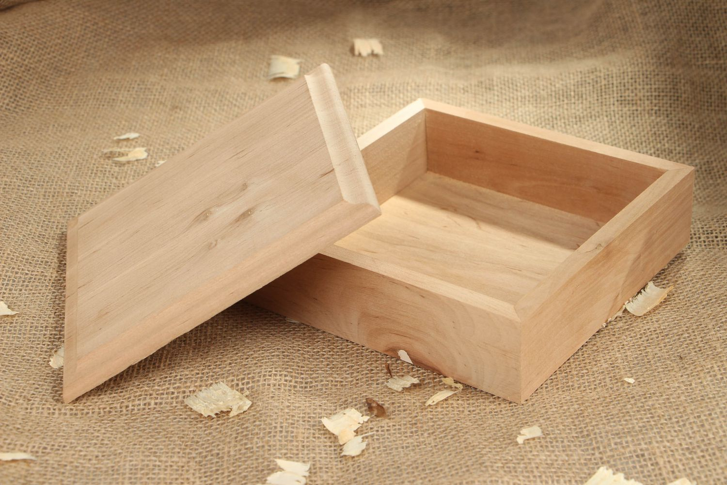 boxes Personalised gift, wooden craft blank Jewelry box - MADEheart.com