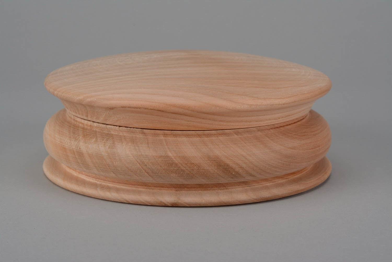 Деревянная круглая шкатулка своими руками 20