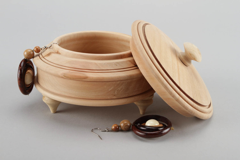 Деревянная круглая шкатулка своими руками 41