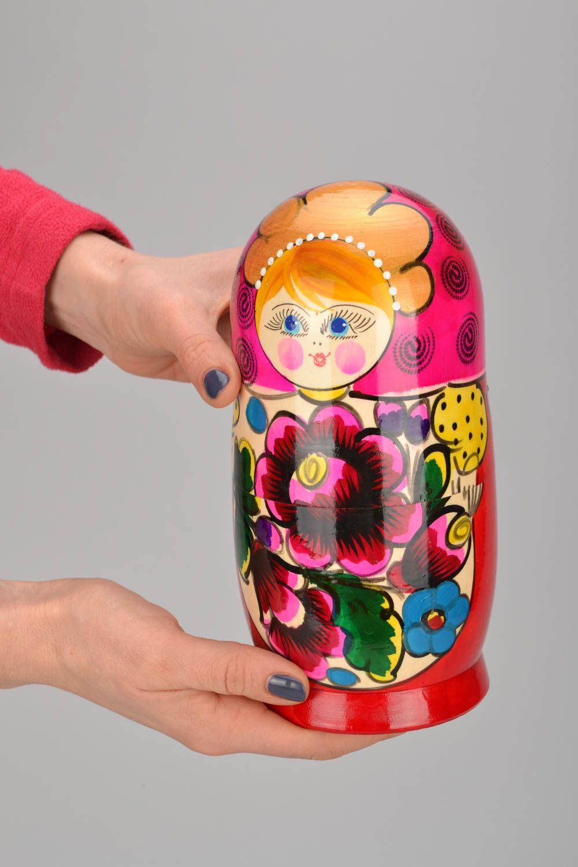 Russian folk toy Matryoshka photo 1