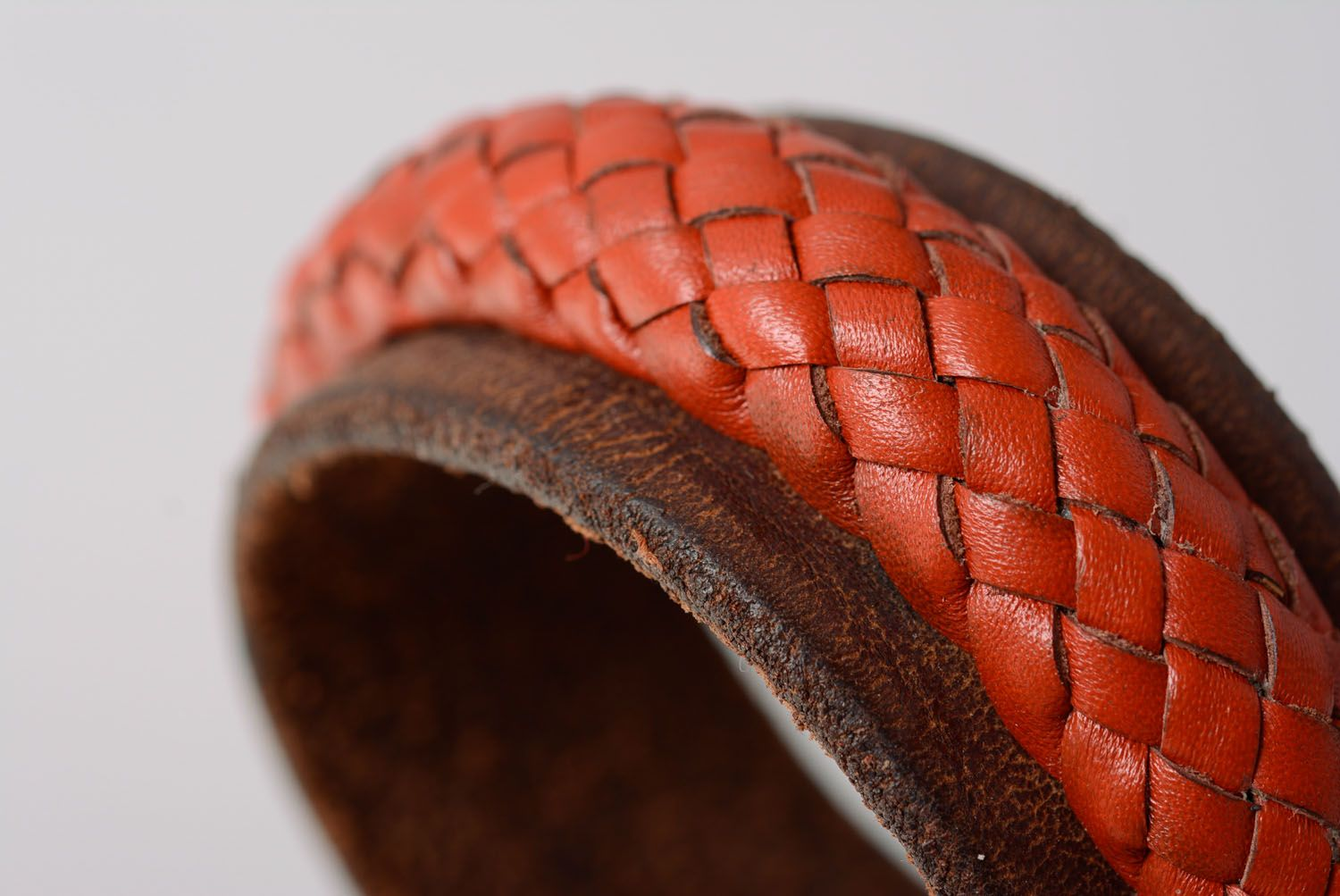 Leather bracelet photo 5
