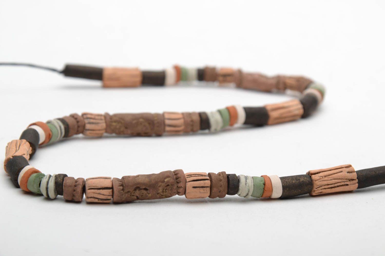 Designer ceramic necklace photo 5