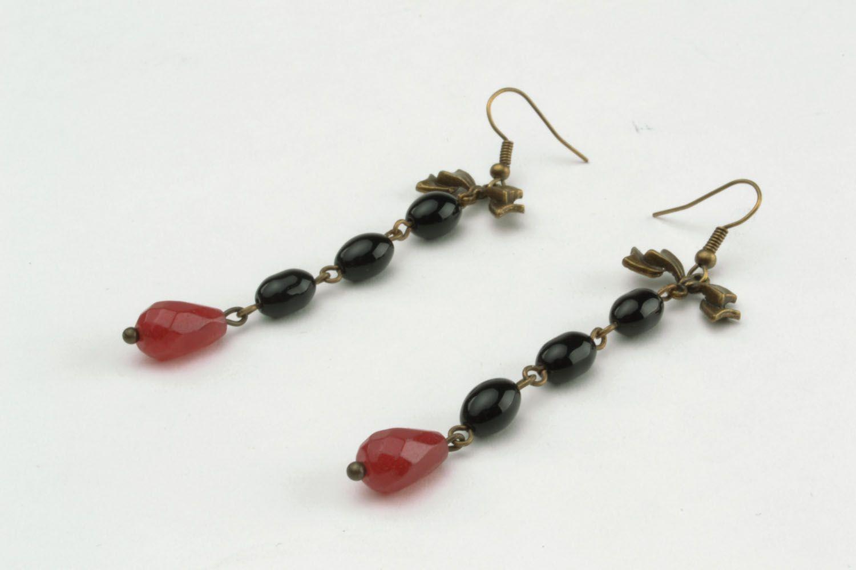 Long earrings-pendants photo 4