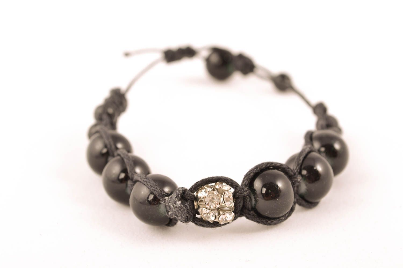 Wrist bracelet with beads photo 1