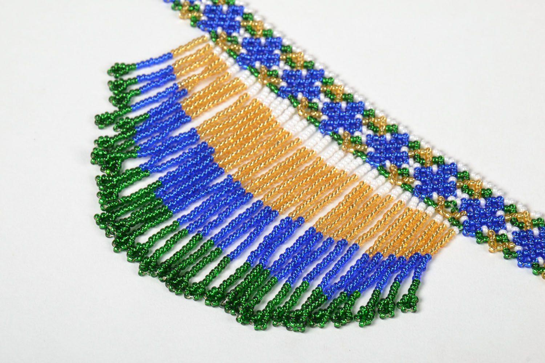 Homemade beaded necklace photo 2