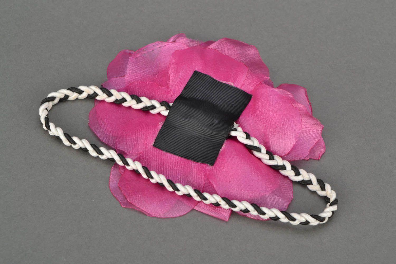 Headband with flower  photo 5