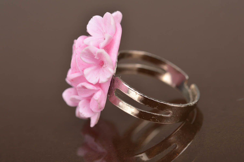 MADEHEART > Beautiful volume handmade designer polymer clay flower ...