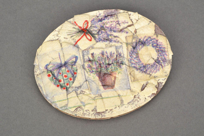 Fridge magnet in Provence style photo 1