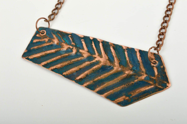 Stylish handmade metal pendant fashion accessories beautiful jewellery photo 4