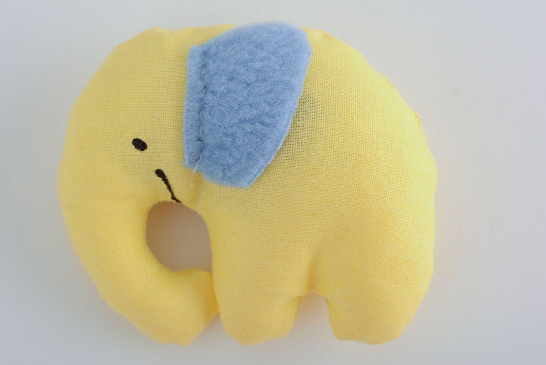 Textile toy Smiling Elephant photo 1