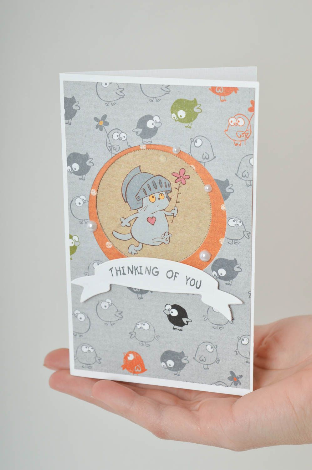 Handmade greeting card cool gifts i love you card paper greeting card  photo 5