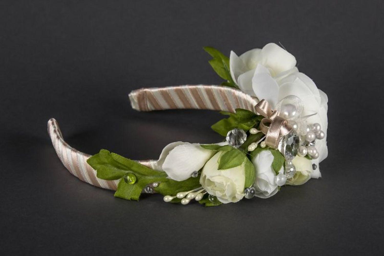 Wedding head wreath photo 4