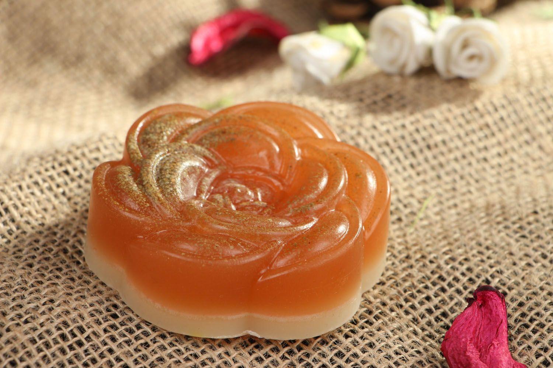 Natural soap Rose photo 5