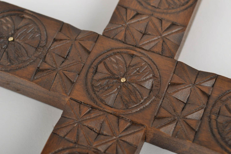 Madeheart cruces de madera hechas a mano adornos para for Adornos de madera para pared
