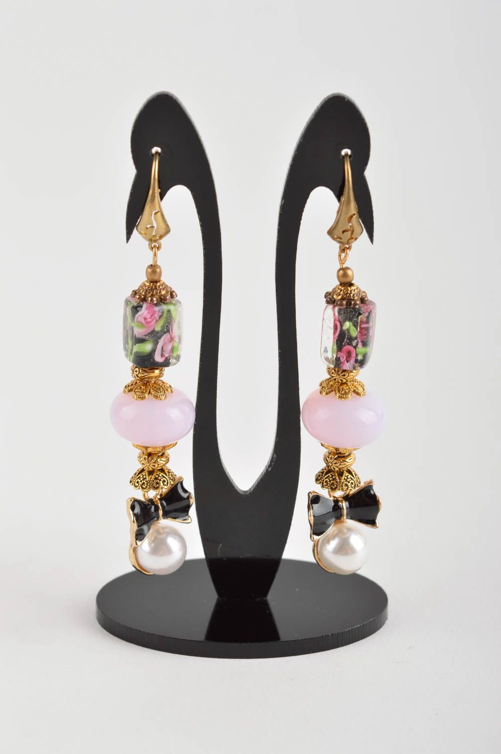 chandelier earrings Homemade jewelry dangling earrings designer earrings fashion accessories - MADEheart.com