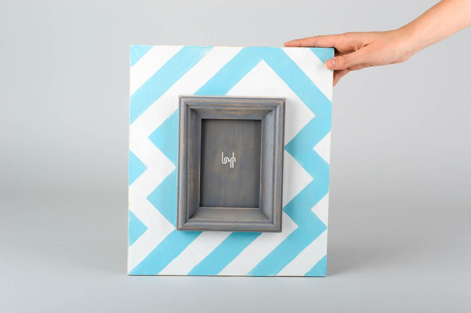 Handmade photo frame wooden frame for photo decorative use only wall decor photo 2