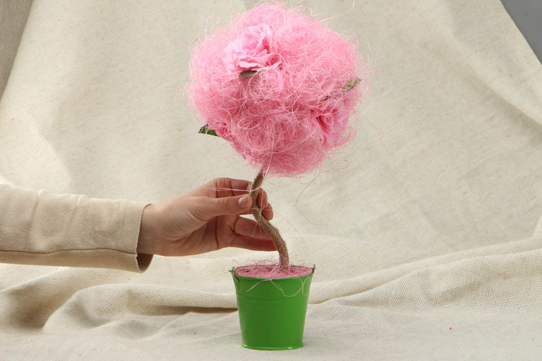 Pink handmade topiry photo 4