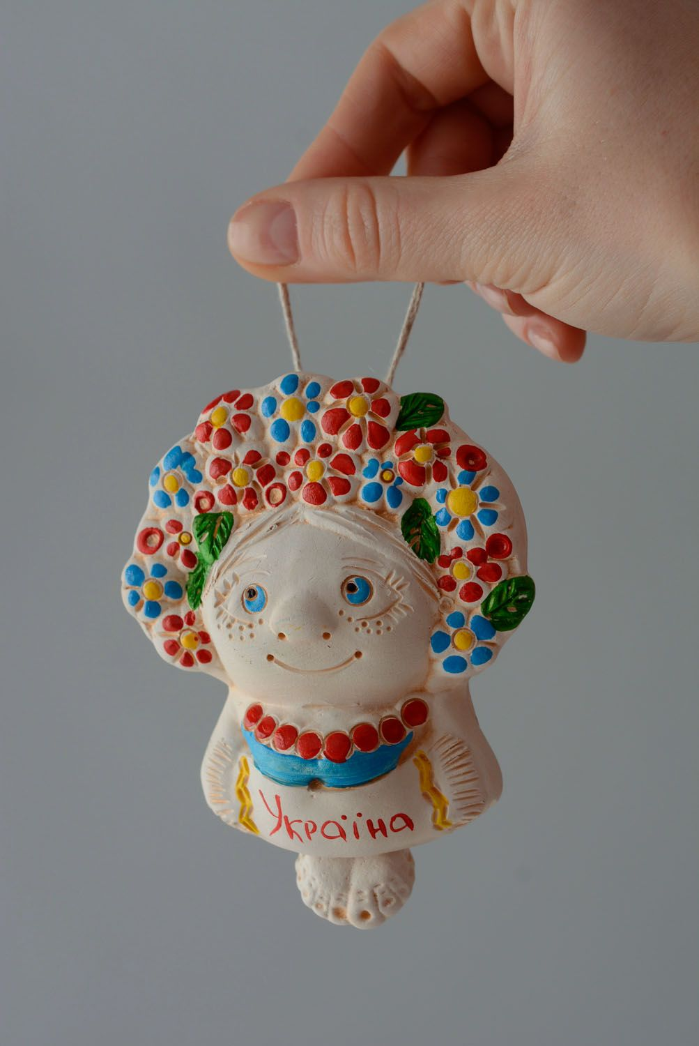 Handmade ceramic bell Beauty photo 4