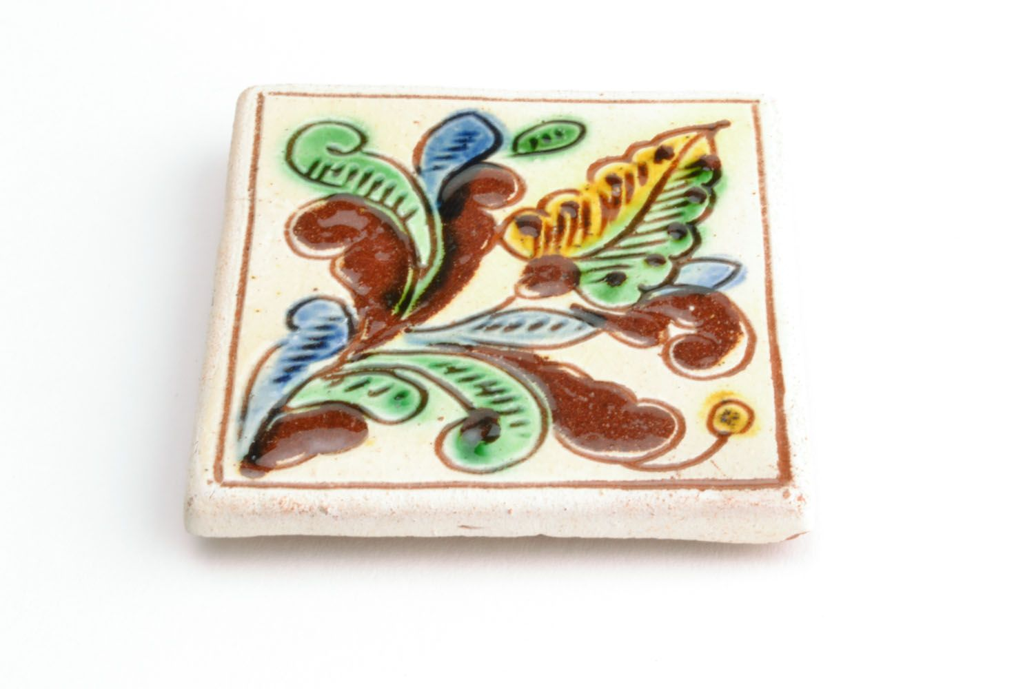 Homemade fridge magnet in ethnic style photo 4