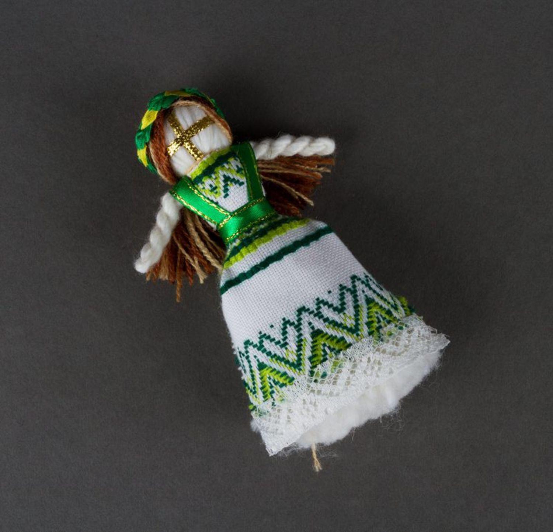 Beautiful handmade fridge magnet soft magnet doll kitchen design gift ideas photo 3