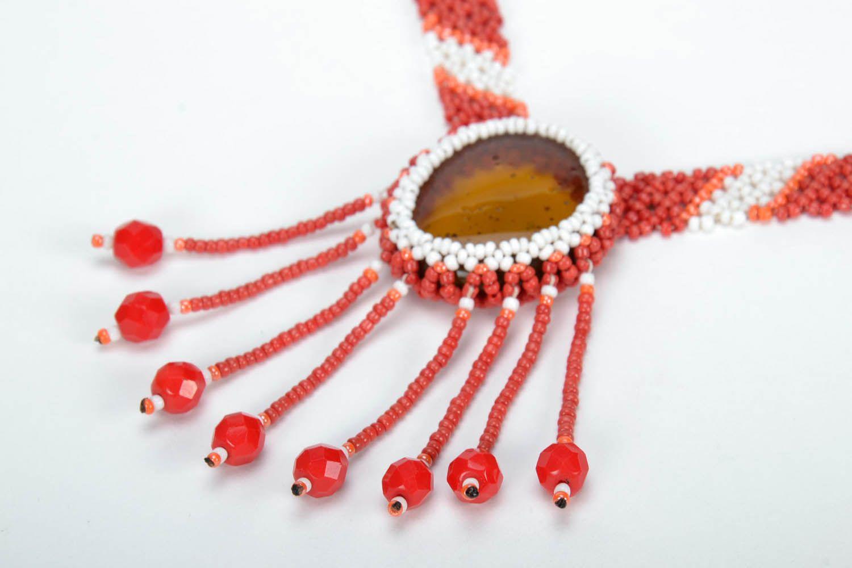 Bead necklace Sun photo 3