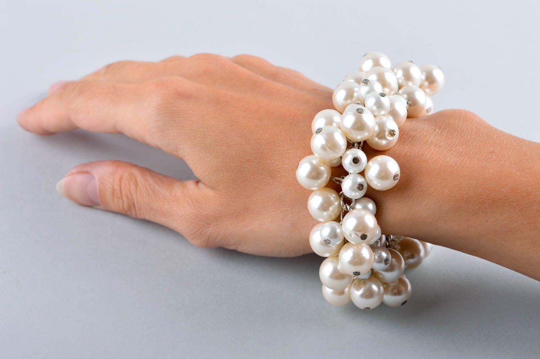 pulseras de cuentas de vidrio Pulsera original hecha a mano accesorio de moda para mujer bisutería