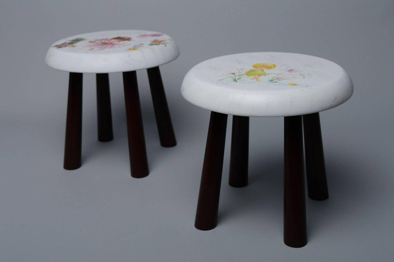 Miraculous Childrens Wooden Stool Short Links Chair Design For Home Short Linksinfo