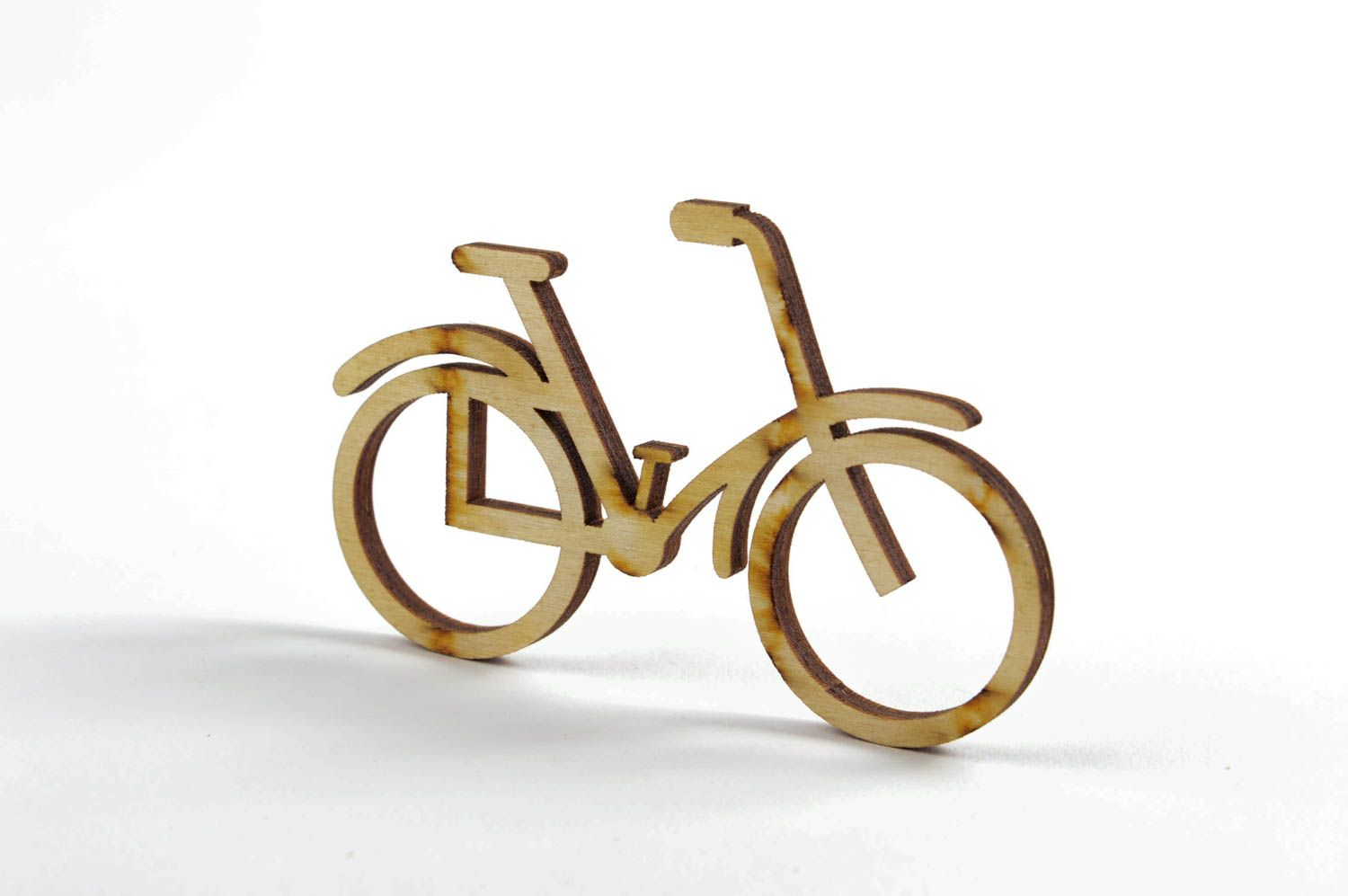 madeheart miniatur bemalen handmade deko fahrrad aus holz deko figur f r kinder gerschenk. Black Bedroom Furniture Sets. Home Design Ideas