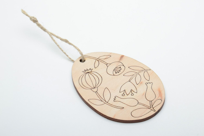 eggs for decoupage Plywood interior pendant magnet Egg - MADEheart.com