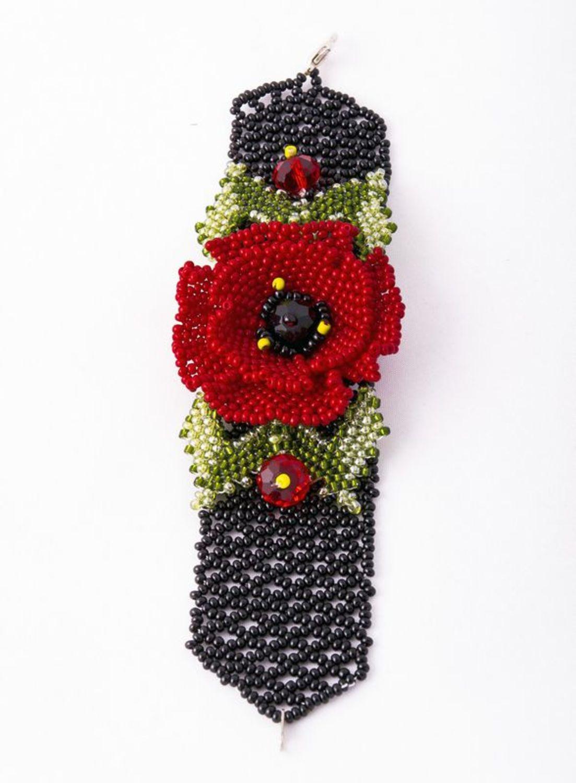 Beaded bracelet Poppy  photo 2