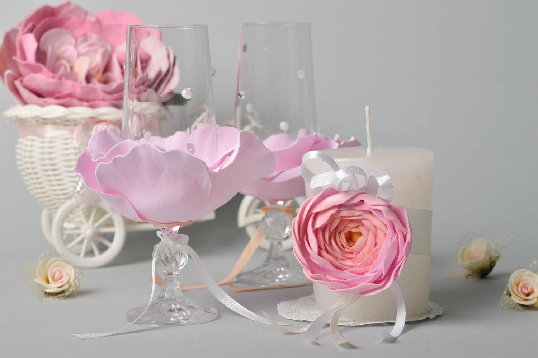 Madeheart Handmade Wedding Glasses Wedding Candle Wedding