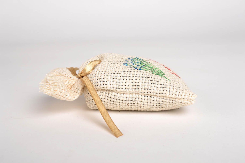 Handmade home decor sachet bag lavender sachet aroma therapy scented sachet photo 4