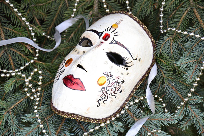 masks Plaster carnival mask - MADEheart.com