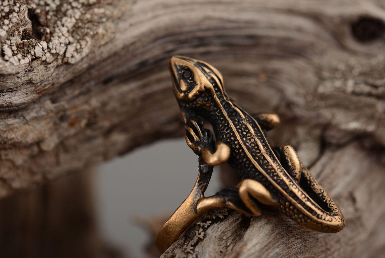 Bronze ring Salamander photo 1
