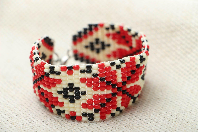 Beaded bracelet in ethnic style photo 1