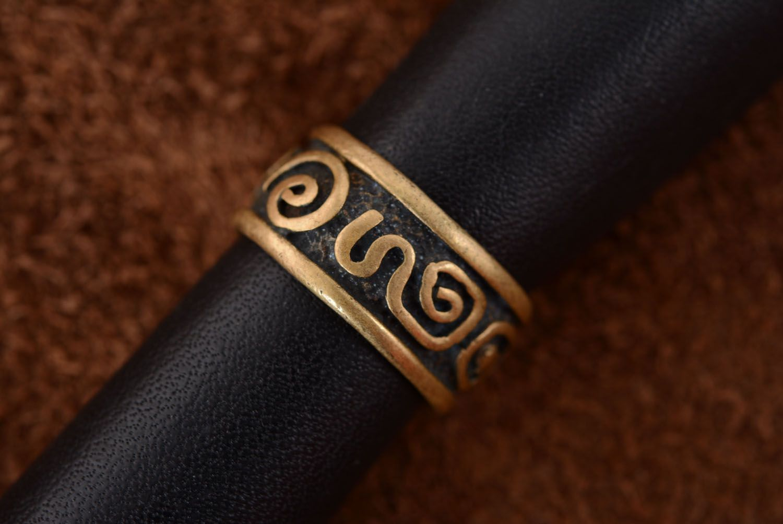 Bronze ring Fantasy photo 3