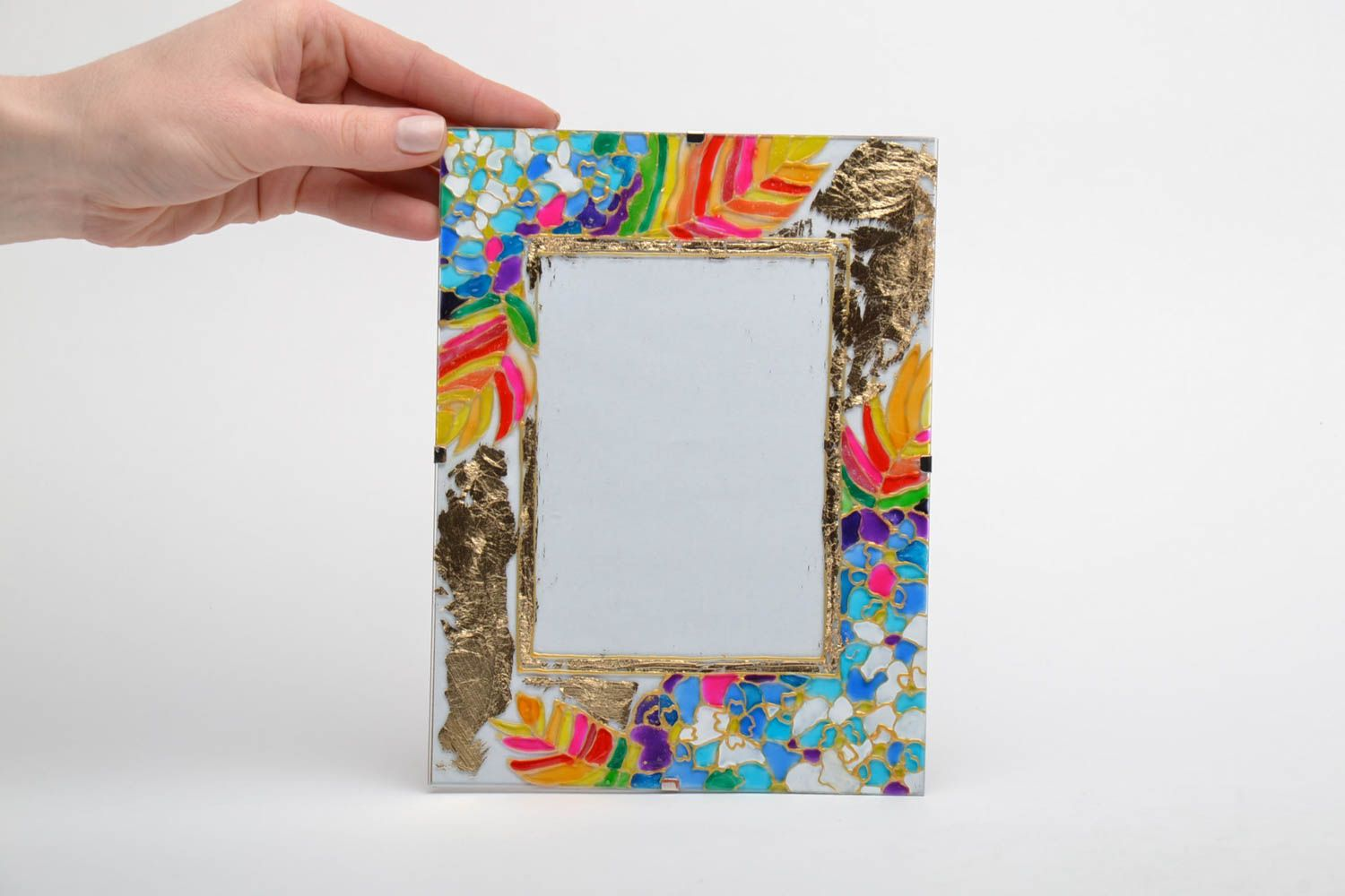 Stained glass photo frame photo 2