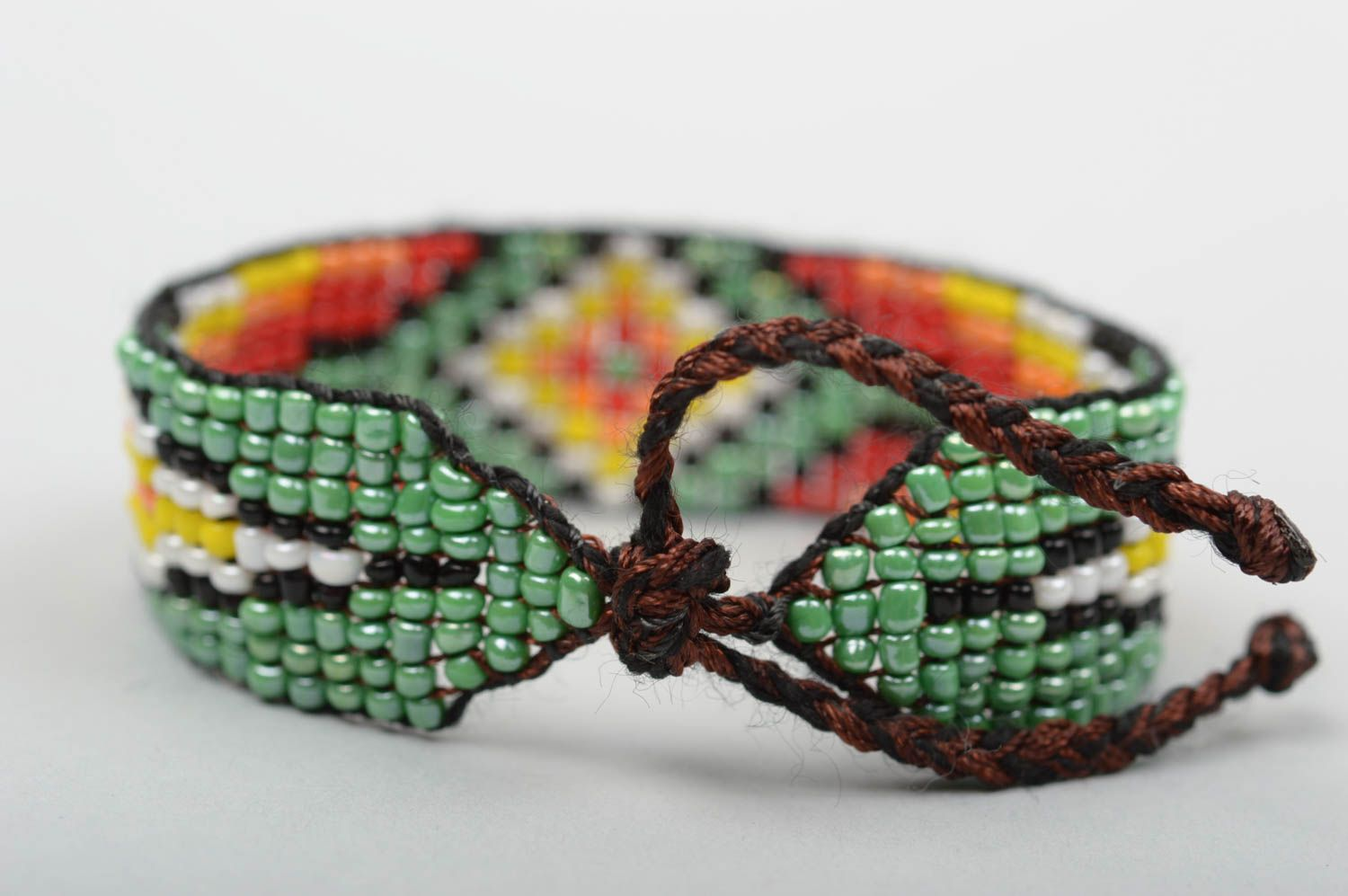 Handmade beaded bracelet fashion jewelry unique jewelry gifts for girl photo 2
