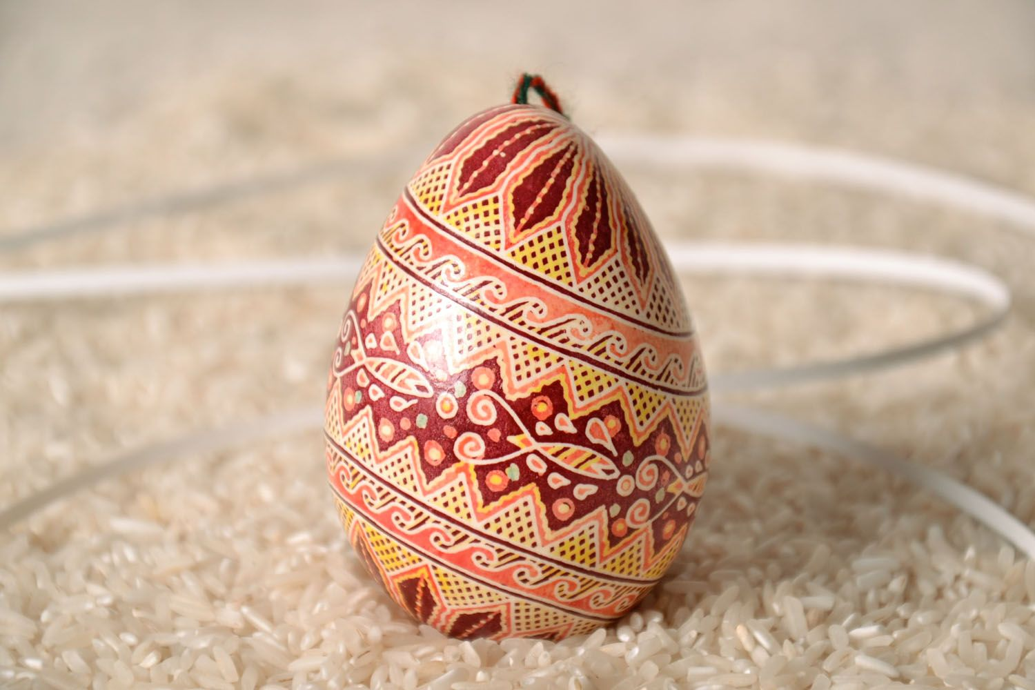 turkey easter eggs Decorative egg with patterns - MADEheart.com